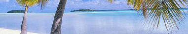beautiful aitutaki lagoon